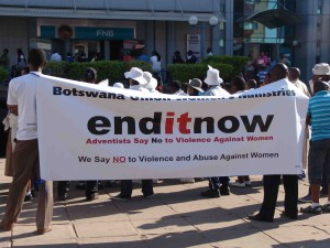 GBV during a march organised by Women_s Affairs Department during 16 Days of