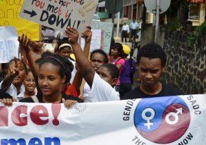 16 Days Activism Campaign_March against Gender Based Violence_ Savanne _30112013_AV_Mauritius _18__JPG