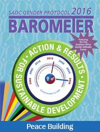 Barometer 2016 Peace Building