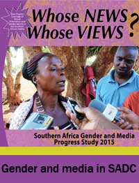 GMPS 2016 Gender and media in SADC