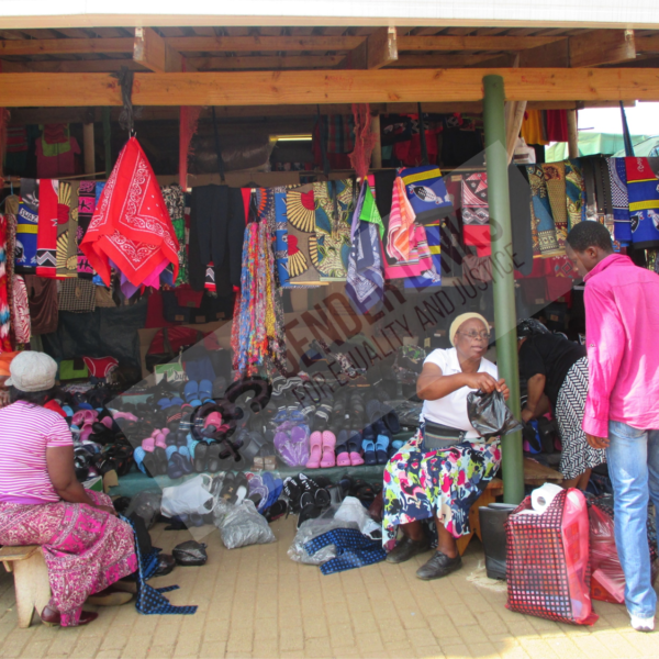 Market place in Swaziland