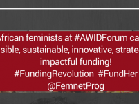 International: African Feminists at AWID Forum Call for Sustainable Resourcing