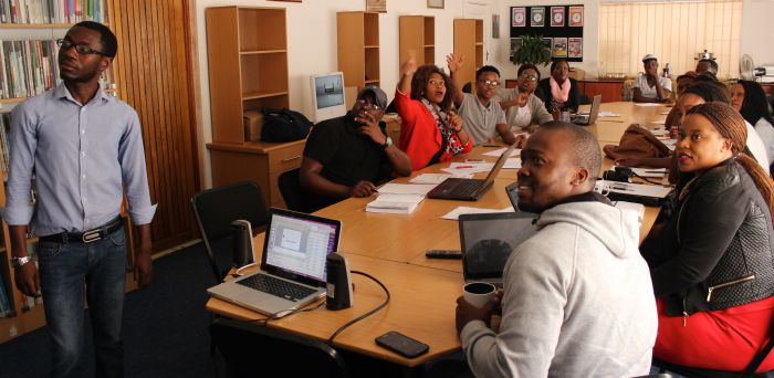 Media and information literacy training workshop