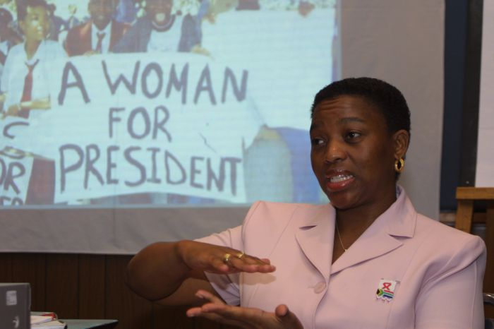 A feminist president for South Africa