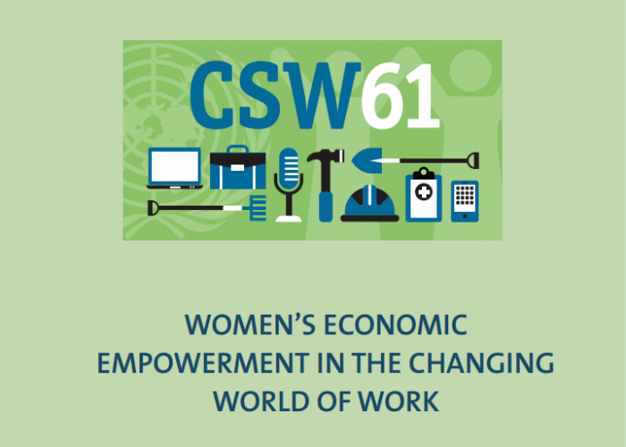 CSW61: Time to end the gender pay gap