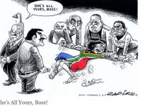 South Africa: Zapiro cartoon misses the mark