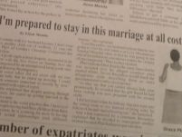 I am prepared to stay in this marriage at all costs_New Vision Newspaper_7 April 2015