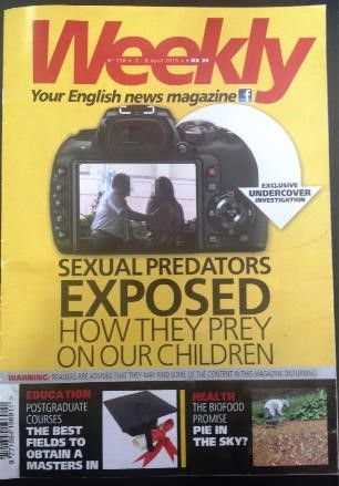 "Sexual Predators Exposed How They Prey on Our Children_The ""Wow"" Factor – Journalist Heroes in opposition to Sexual Monsters_Weekly Issue_ 2-8 April 2015"