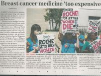 Breast Cancer medicine ' too expensive'_The New Age_06 February 2017