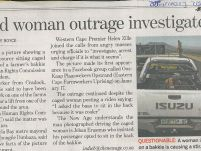 Caged women outrage investigated_The New Age_20 January 2017