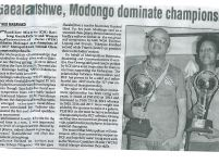 Gaealafshwe, Modongo dominate championship_The midweek sun_9 May 2017
