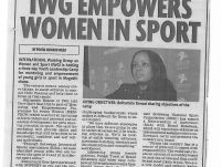 IWG Empowers women in sport_The Voice_21 April 2017