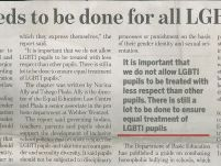 More needs to be done for all LGBTI pupils_ The New Age_16 February 2017