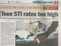 Teen STI rates too high_The New Age_16 March 2017