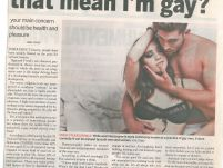 I like anal sex; does that mean I'm gay?_ The new age_ 1 February 2017