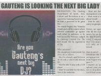 GAUTENG IS LOOKING FOR THE NEXT BIG LADY DJ_Mapepeza