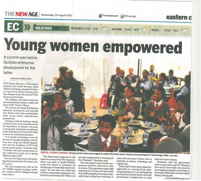 Youth women empowered_ The New Age