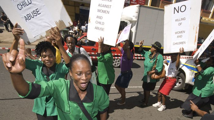 SA: GBV perpetrators must be brought to account