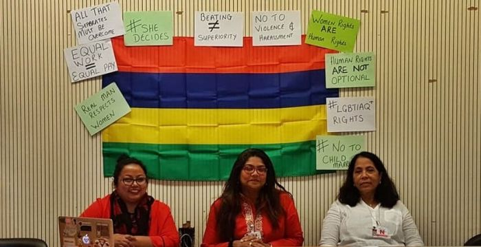 Mauritius NGOs present shadow report at CEDAW