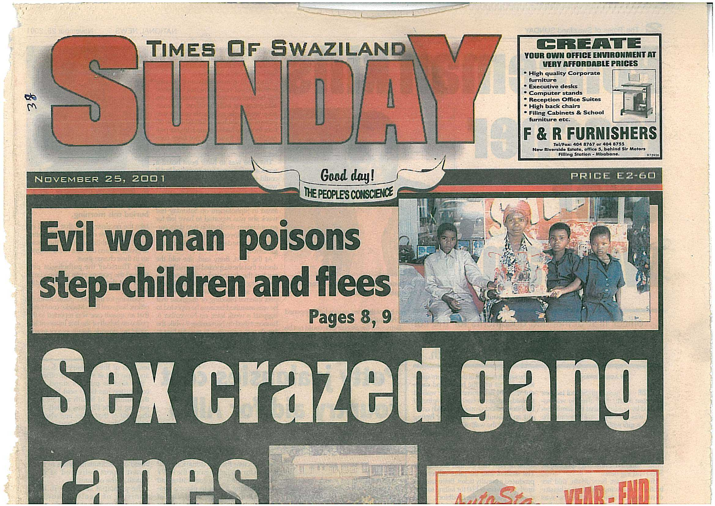 swaziland newspaper of Times