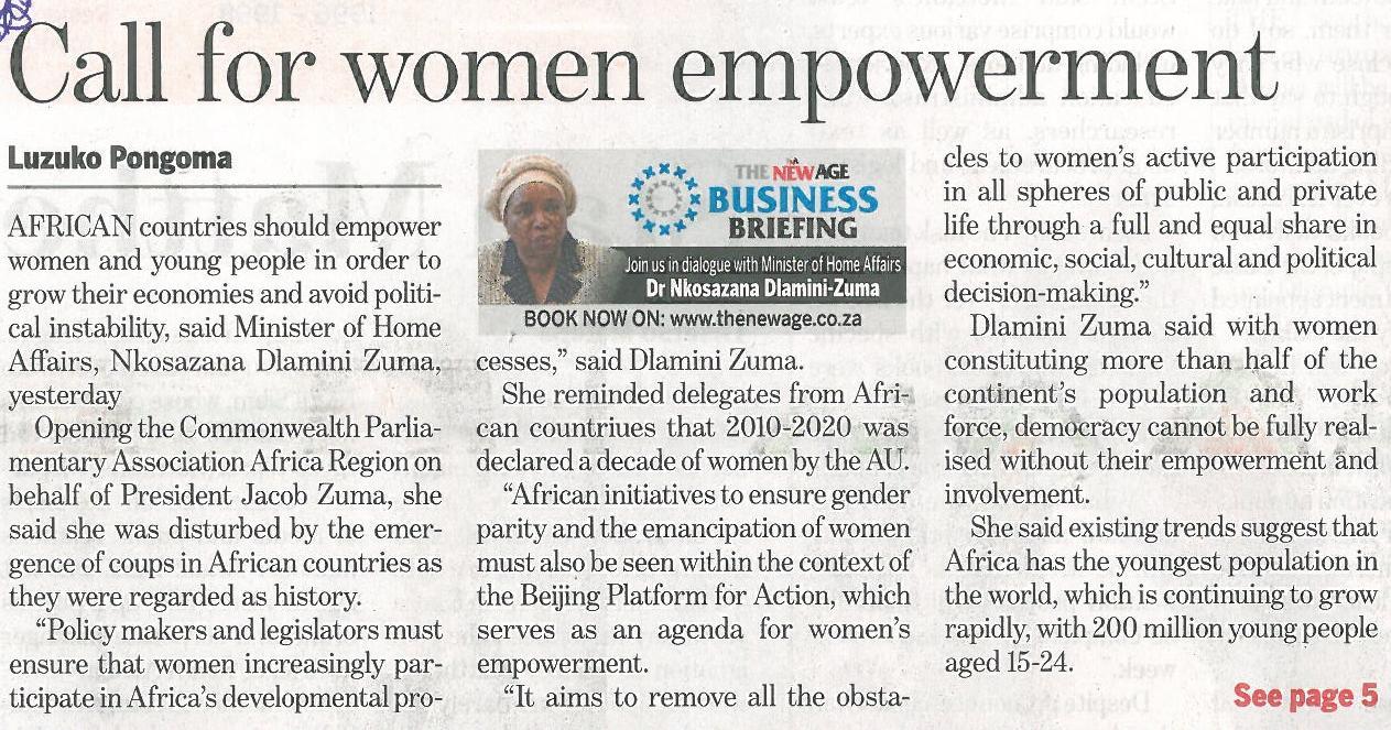 women empowerment articles