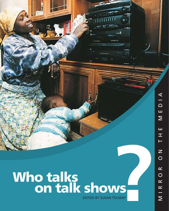 Who talks on talk shows?