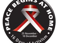16 Days of activism 2015 South Africa and Regional