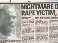 Nightmare of rape victim, 6 – Sowetan