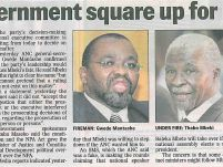 ANC, government square up for big fight