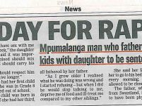 D-Day for rapist dad