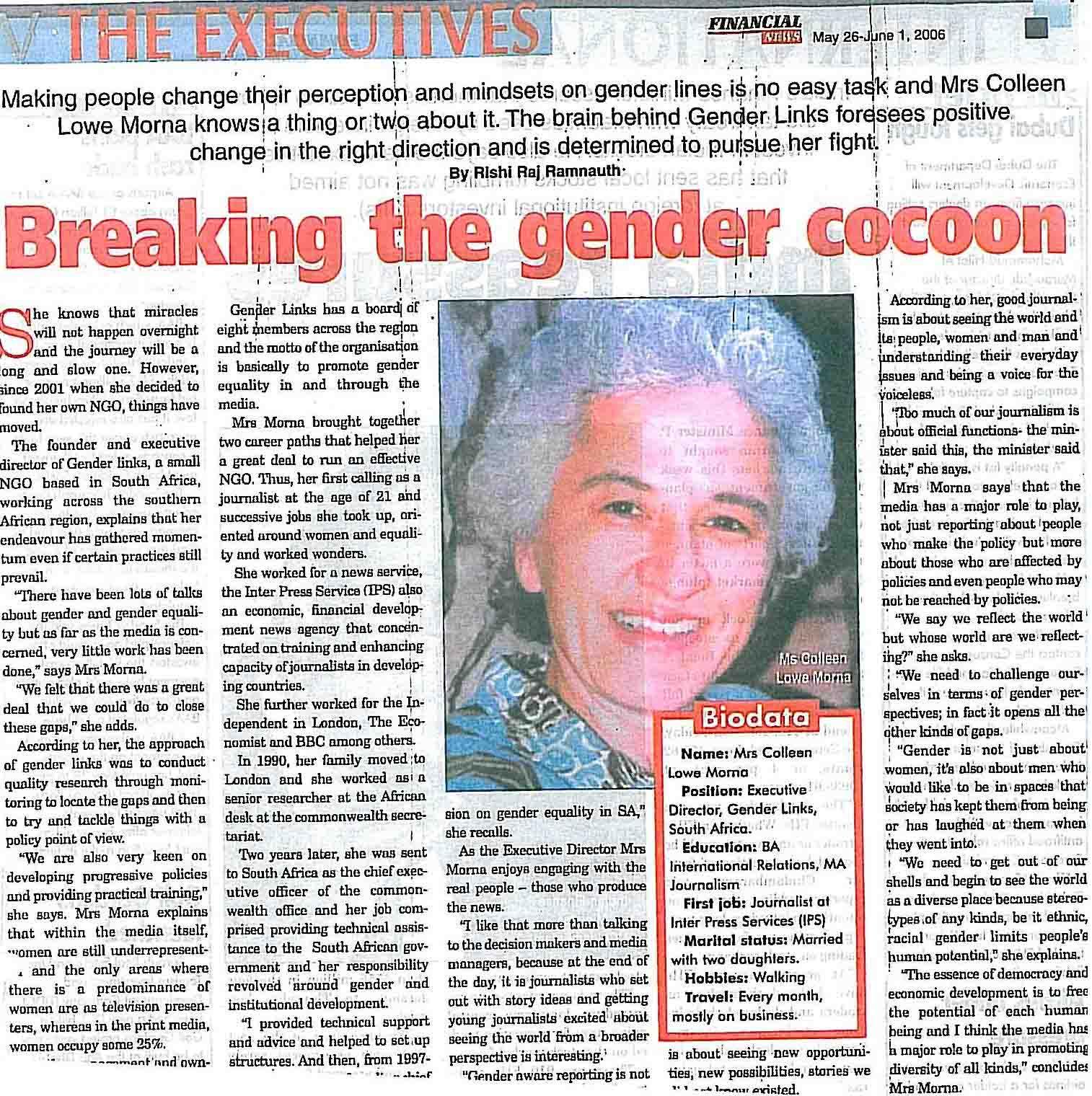 gender prejudice articles