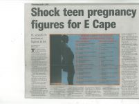 """shock teen pregnancy for E Cape""_Daily Dispatch_9 April 2015"