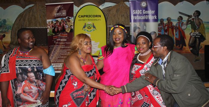 Swaziland/ Limpompo joint SADC Gender Protocol@Work Summit 2018