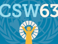 CSW63; Prioritised social protection for women