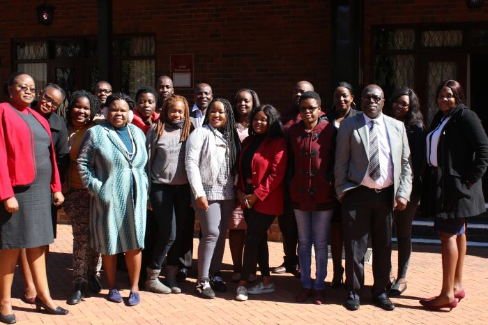 Participants of the Zimbabwe SRHR WORKSHOP 2019