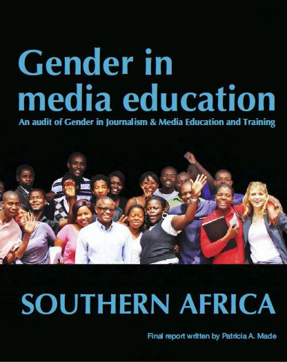 Gender in Media Education: An audit of Gender in Journalism & Media Education and Training
